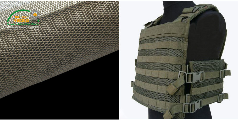 3D Mesh Fabric for Military Supplies